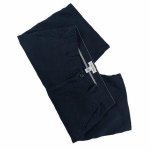 Men's Navy CALVIN KLEIN Linen Shorts, Size 32
